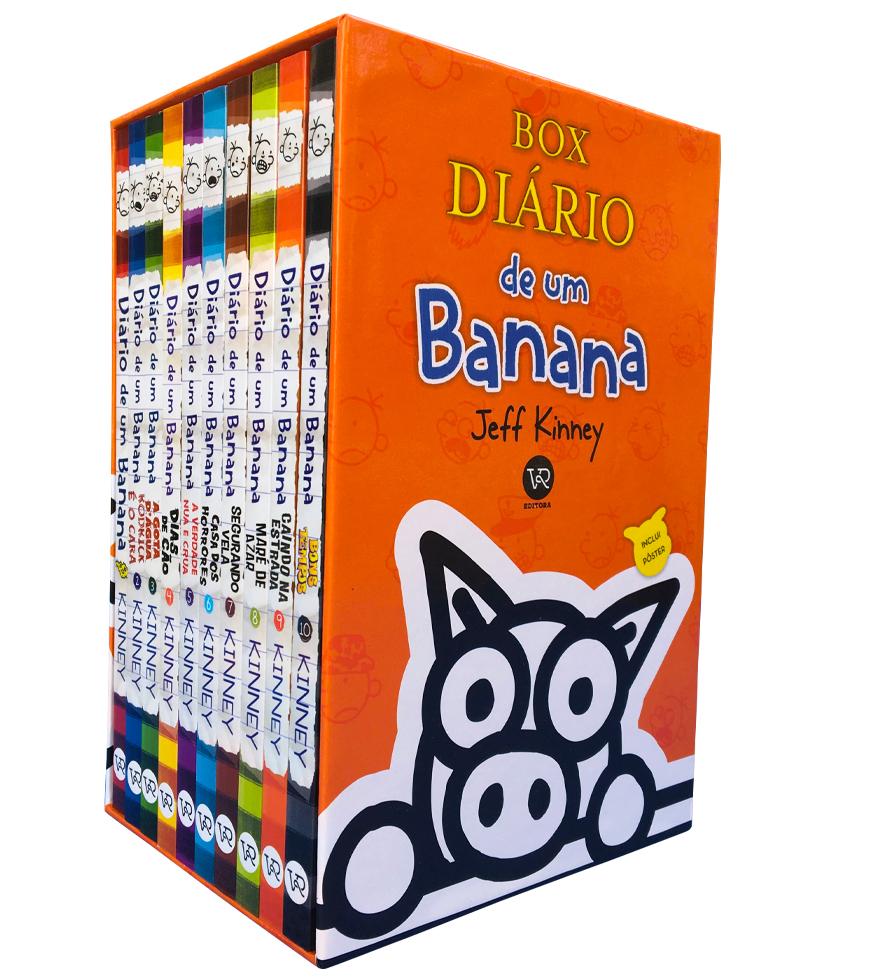 BOX - DIARIO DE UM BANANA - 10 VOLUMES