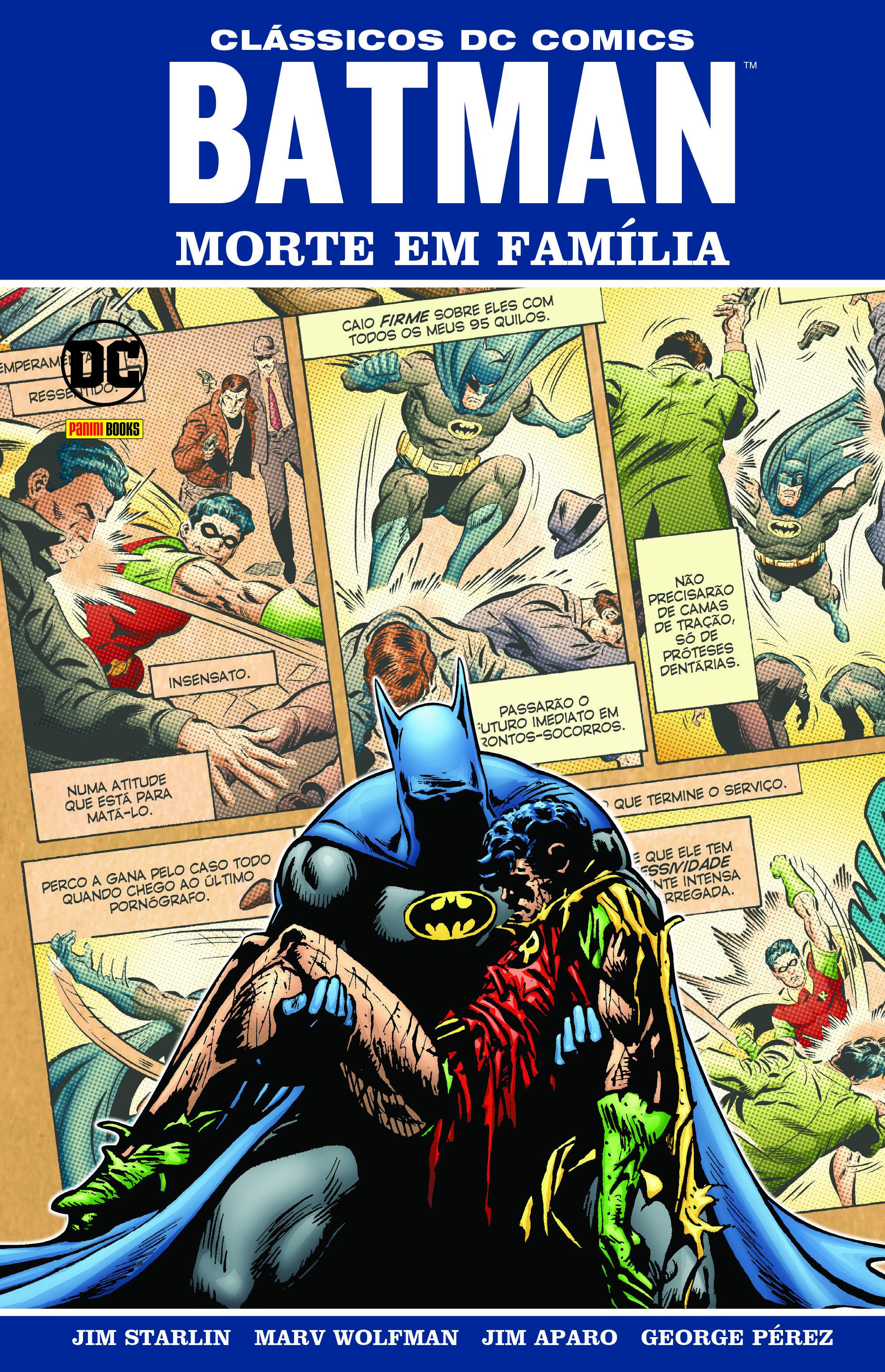 BATMAN: MORTE EM FAMILIA